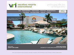 Vacation Resorts International
