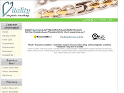Vitality Magnetic Jewellery