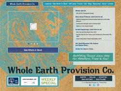 Whole Earth Provision