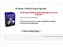 Wp Squeeze Page Plugin